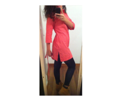 Pink košulja/tunika