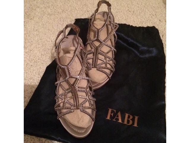 Fabi sandale sa swarovski kristalima svečane 37