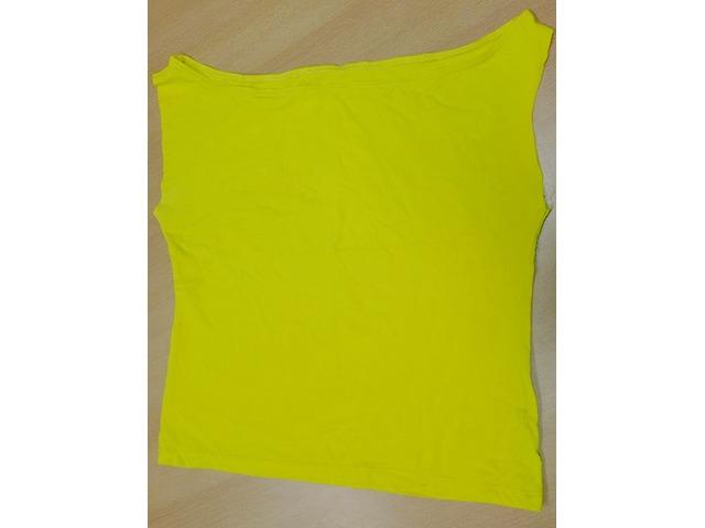 Majica, limun žute boje, bez rukava