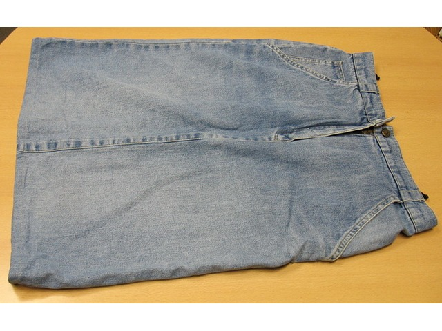 Jeans suknja, traper
