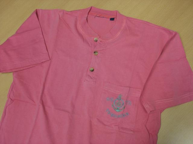 Pamučna majica sa tri gumbića, unisex, veličine muške M