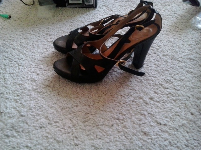 Guliver kožne sandale 40