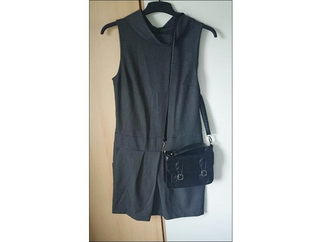 Benetton tamnosiva haljina