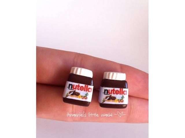 Naušnice Nutella
