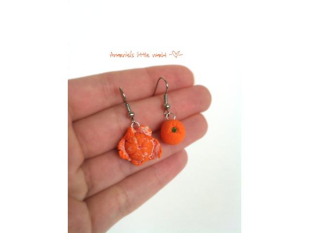 Naušnice narandže