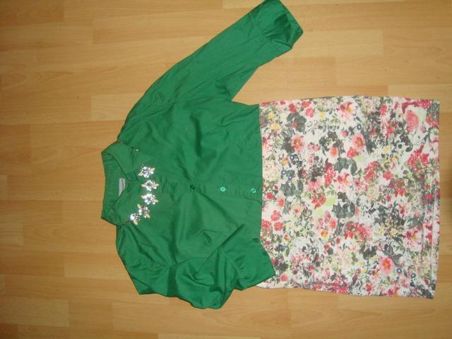 C&A zelena košuljica