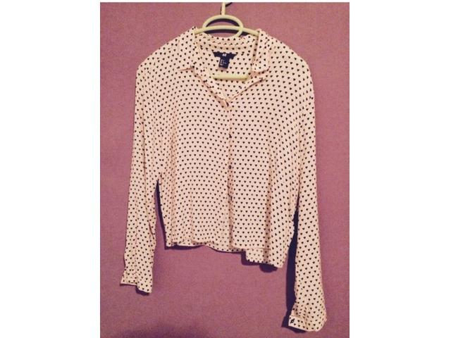 Roza H&M bluza