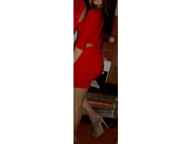 Crvena sexy haljina