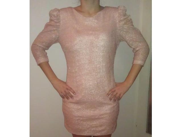 roza sljokicasta haljina, like elfs
