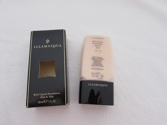 Illamasqua Rich liquid foundation RF115