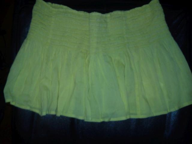 Mini suknja neon žuta