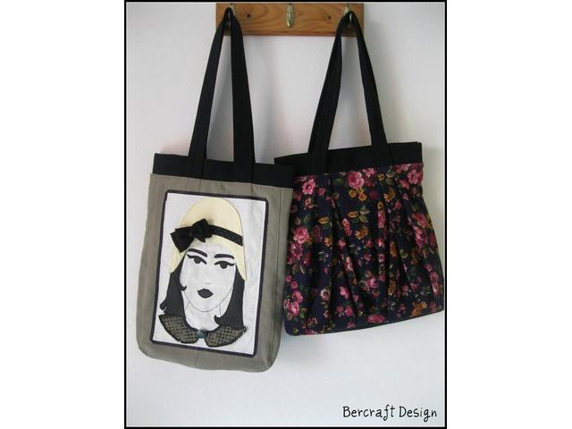 Prodajem handmade torbu-Mina
