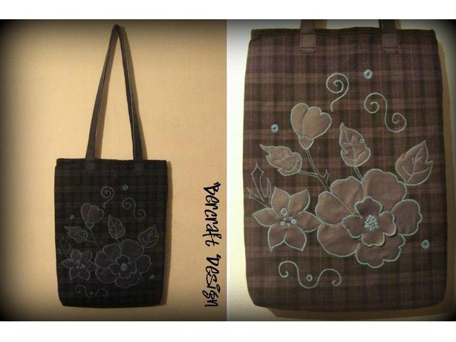 Prodajem handmade torbu, Bercraft Design