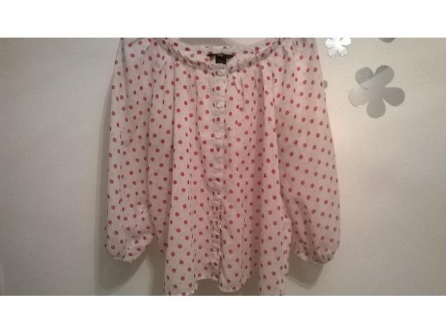 Oversize h&m bluza/košulja