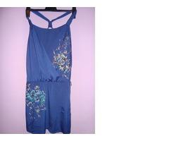 Svečanija modra haljina
