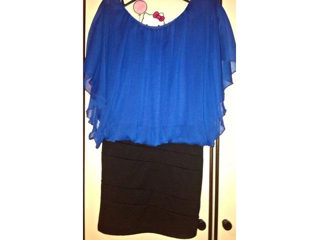 Mini plava haljinica