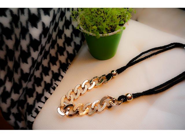 Ogrlica - zlatne karike
