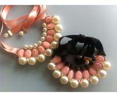 Romantična biserna ogrlica