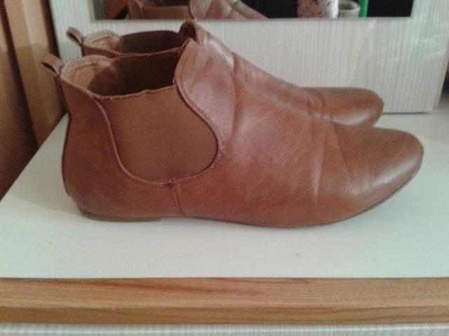 Smeđe chelsea cipele
