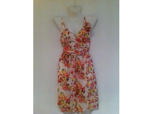 Lepršava cvjetna haljina