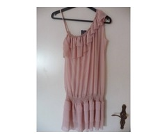 Lagana tunika, svijetlo roze boje
