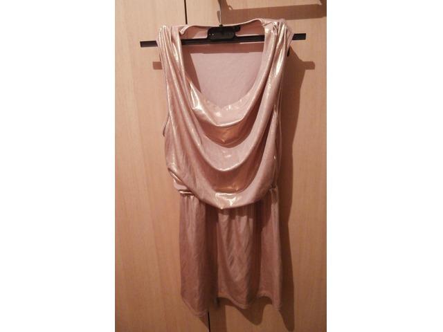 H&M zlatna tunika/majica