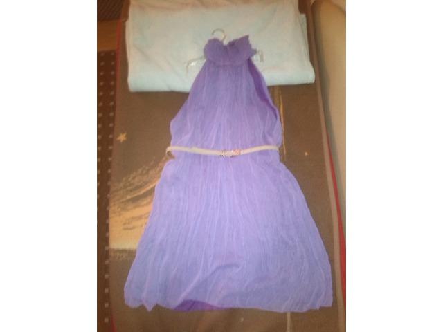 njezno ljubicasta haljinica