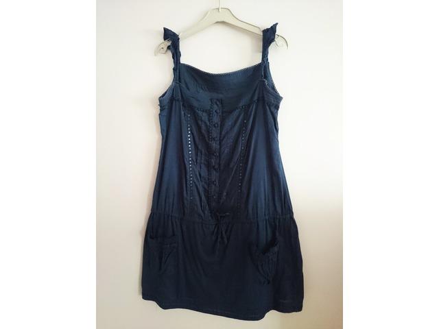 Plava haljina - veličina L