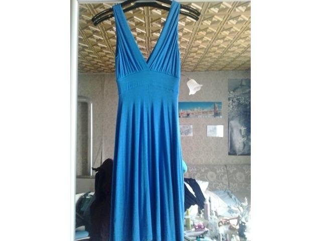 plava haljina XS