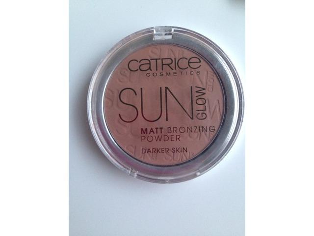 Catrice Cosmetics sun glow matte bronzing powder