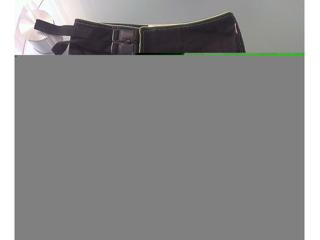 Asimetrična crna suknja/torbica
