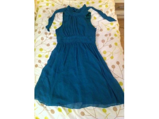 Zelena kratka haljina