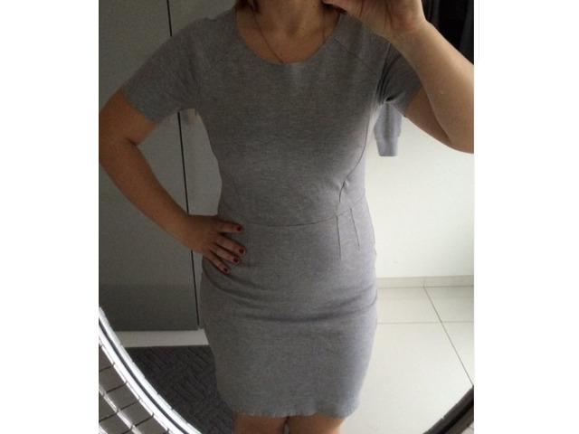 Siva H&M haljina