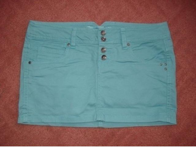 mint mini suknja minica