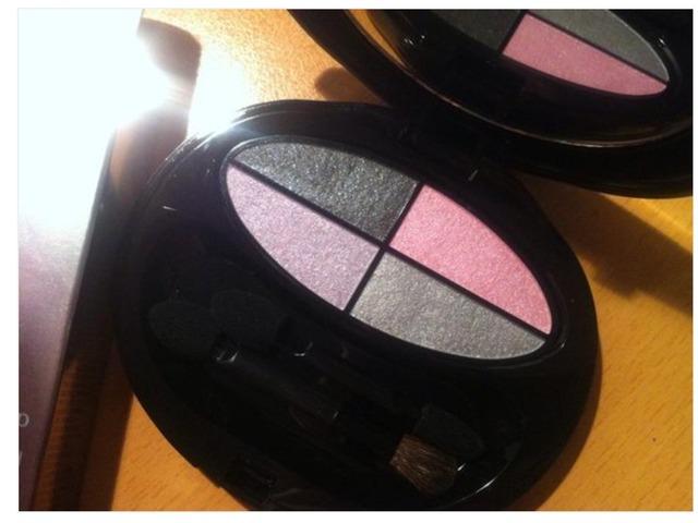 Shiseido eyeshadow quad palette Q1