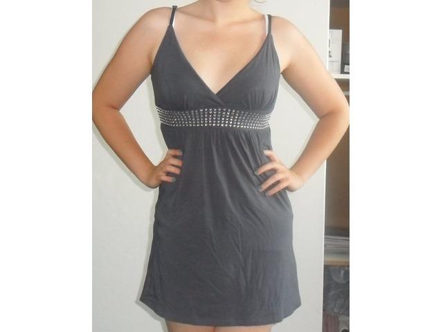 Ljetna siva haljina