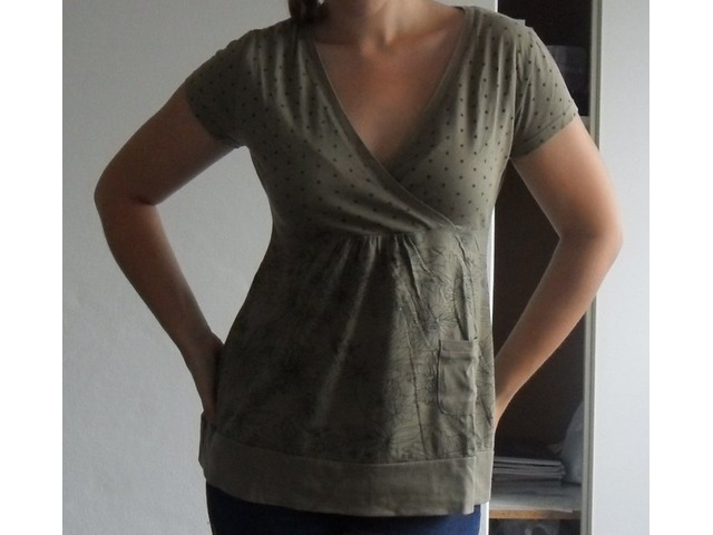 Zelena slatka majica