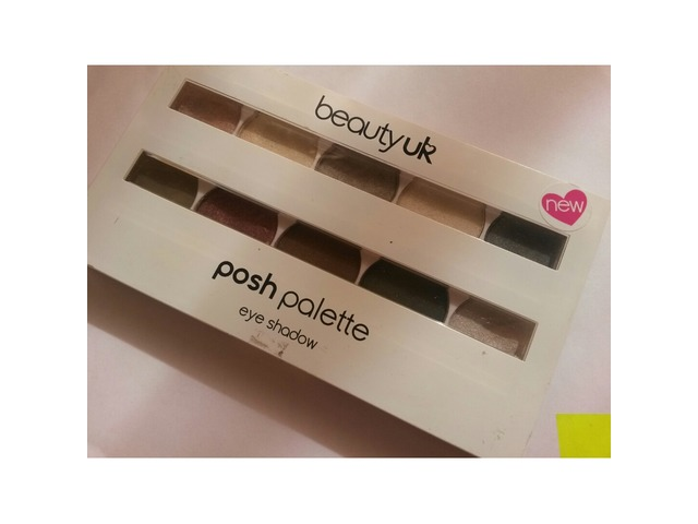 Beauty UK paleta sjenila