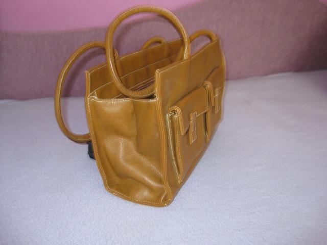 smeđa torbica vintage