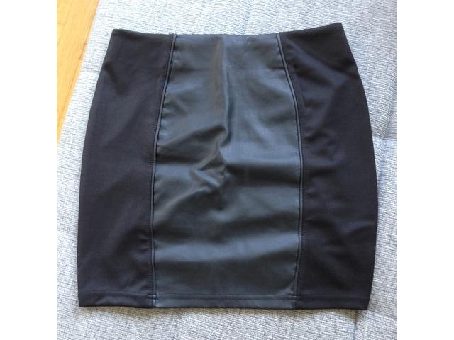 Crna kozna suknja, br.34, New Yorker