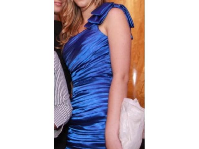 Kraljevsko plava Noir haljina