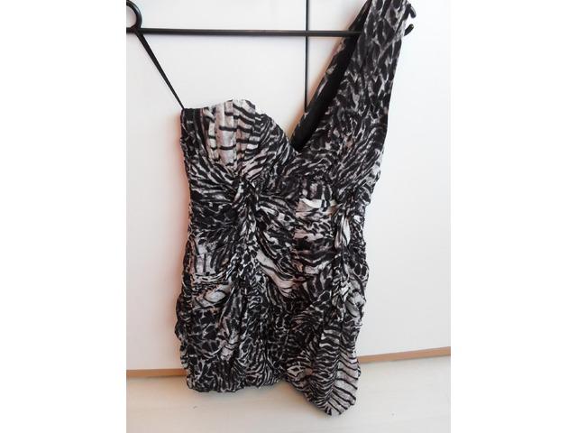 H&M haljina na jedno rame