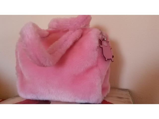 Benetton roza torba..