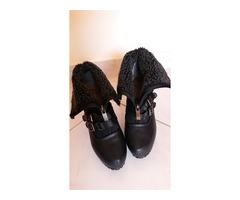 Crne gležnjače-cipele..