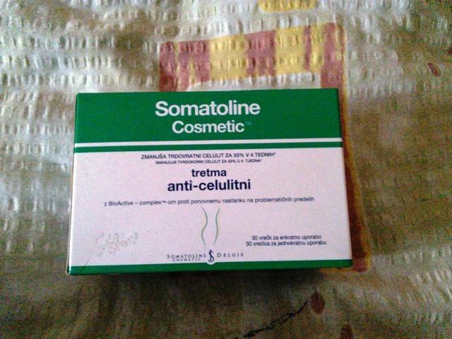 Somatoline anticelulitni gel u vrećicama
