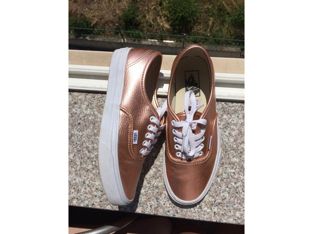 Vans authentic rose gold