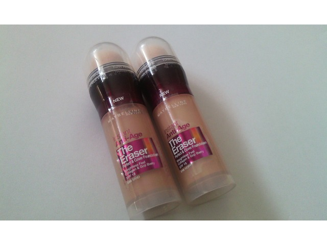 Maybelline instant Anti-Age The Eraser tekući puder