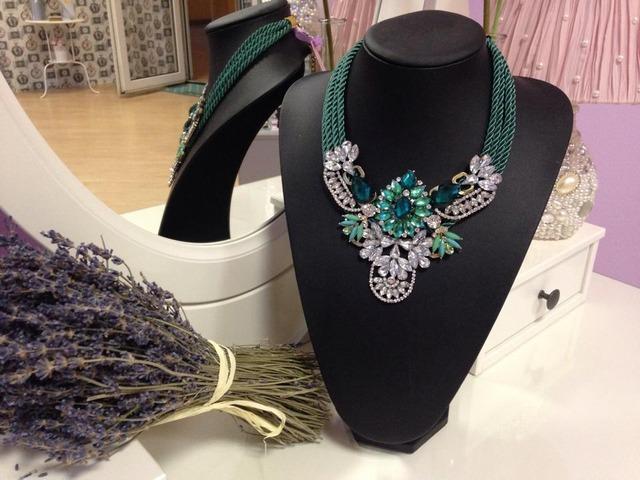 Statement unikatna ogrlica, ručni rad