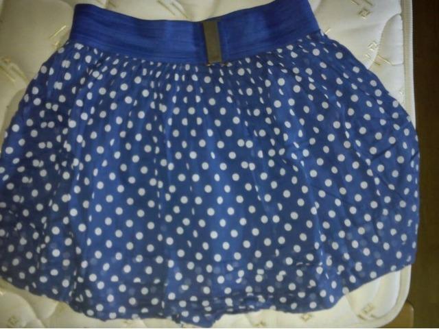 Plava razigrana suknjica (Fishbone)