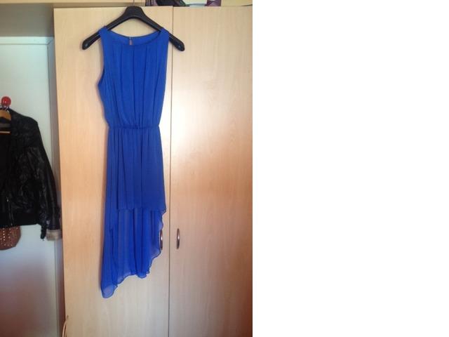 Ljetna kraljevsko plava haljina